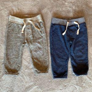 GAP Baby Marled Pull On Pant - 2 pair